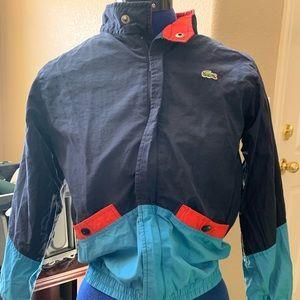 0c4c6bcfd3a6 Kids size 10 windbreaker jacket. LACOSTE